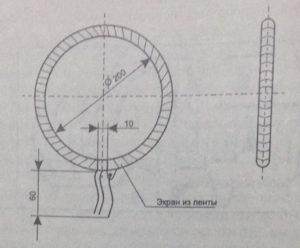 Конструкция катушки L1