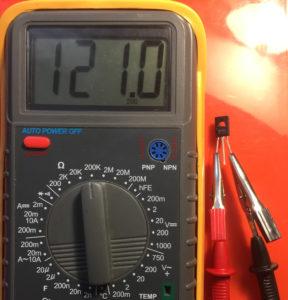 Фото определения цоколевки транзистора